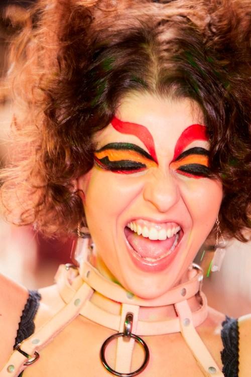 Maquiagem máscara para Carnaval - Bloco Tarado Ni Você - Mac Cosmetics