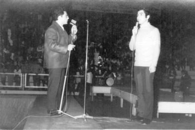 ComIvan Roberto Peroni, 1969, após inauguração do Gigantão, com desfile de modas