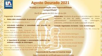 Enfermagem da Uniara promove evento online em função do Agosto Dourado (2)