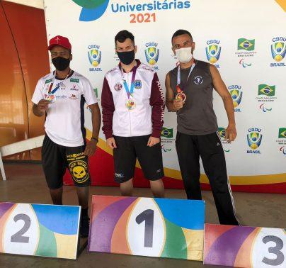 foto01 Pablo Furlan é campeão no salto em distância das Paralimpíadas Universitárias
