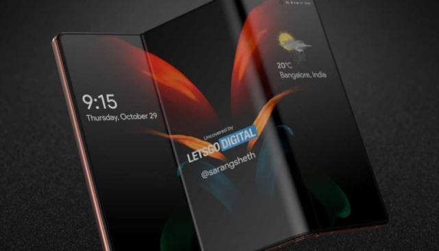 Samsung pretende lançar smartphones com tela dobrável