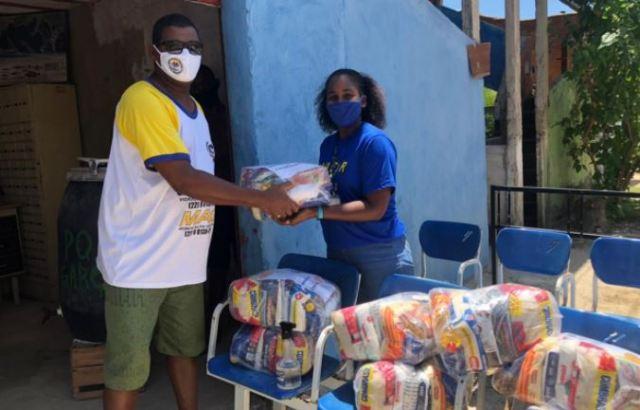 Associações de moradores recebem doações da campanha 'De Olho no Óleo' da Prolagos