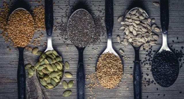 Quatro sementes que deve incluir na sua alimentação