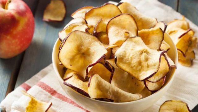 Chips de maçã: O snack saudável para sua dieta