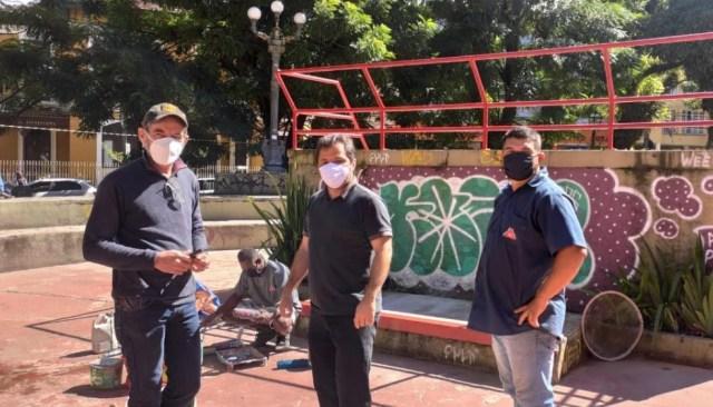 Prefeitura inicia intervenções na Praça do Skate