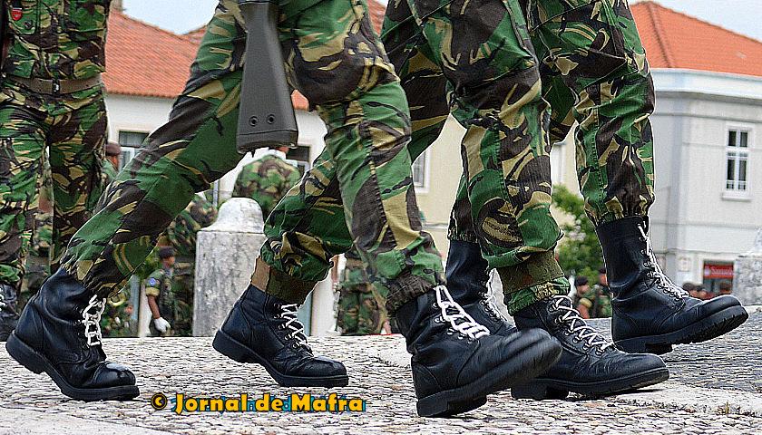 Militares tropa