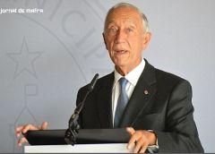 Marcelo Rebelo de Sousa na comemoração dos 75 anos do Aeroclube de Torres Vedras