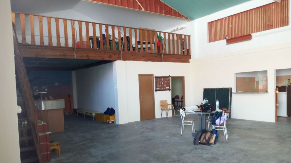 a nova sede ddo Grupo 6 dos Escuteiros de Olhão