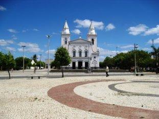 Praça matriz de Quixeramobim.