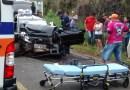Colisão na PR 170 deixa uma vitima fatal e dois feridos