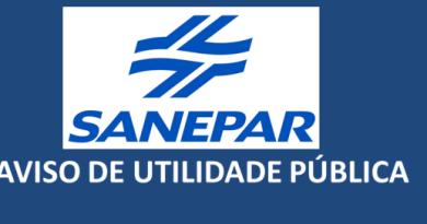 Sanepar informa:Queda de energia da Copel afeta bairros em Pinhão
