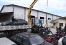 DETRAN/PR recolhe carros e motocicletas em Pinhão
