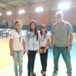Campeões tênis de mesa feminino B