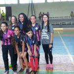 Equipe campeã futsal feminino B - Bento