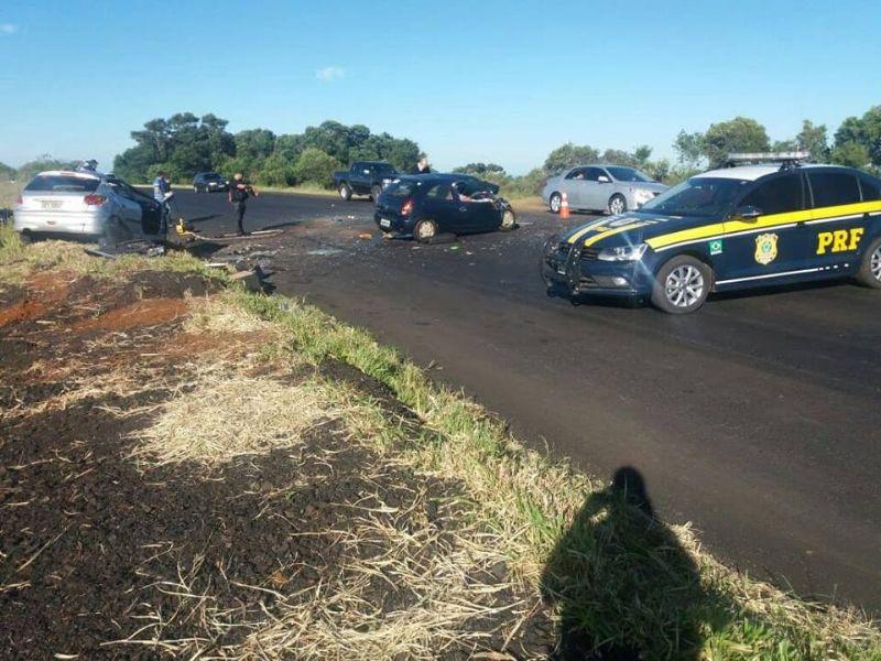 6 mortes são confirmadas pela PRF no acidente da BR 373