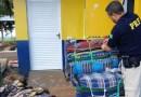 PRF descobre maconha em meio a redes de descanso no Paraná