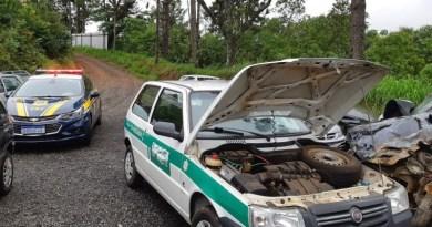 PRF recolhe carro com mais de R$ 44 mil em débitos no Paraná