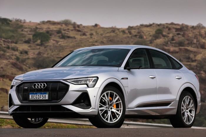 Audi e-Tron Sportback  Lançamento Nacional