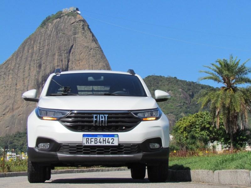 Teste Fiat Strada Volcano 2021