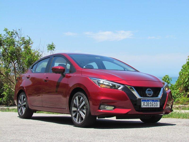 Lançamento do Nissan Versa 2021
