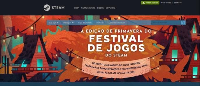 Steam - Home