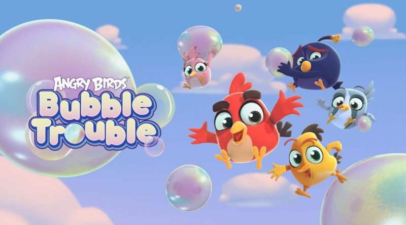 angry birds bubble trouble está disponivel no youtube