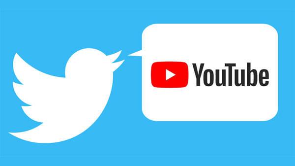 assistir a vídeos do Youtube direto de um tweet