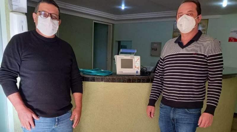 Entrega do ventilador pulmonar