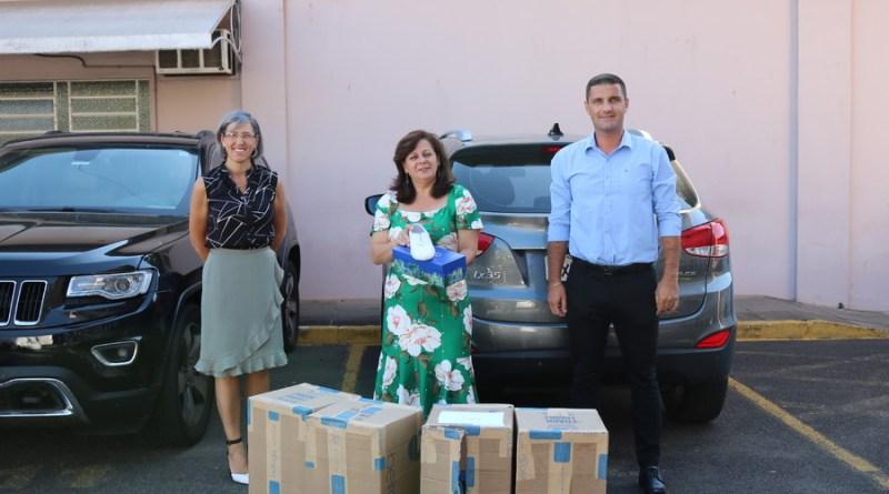 Prefeitura de Sapiranga recebe donativos de empresas para o enfrentamento ao coronavírus