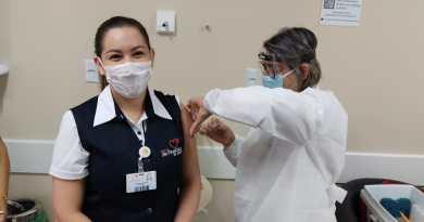 Parobé inicia imunização de profissionais de saúde contra a Covid