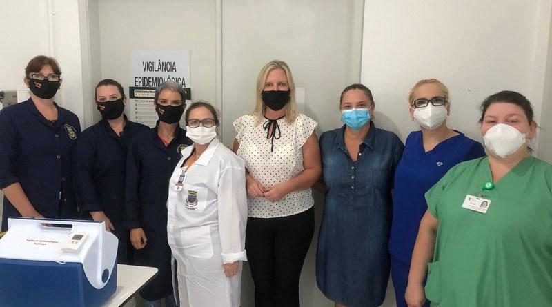 Sapiranga recebe 381 doses da vacina contra a Covid-19