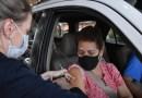 Neste sábado tem drive-thru de vacinação em Nova Hartz  para pessoas com 60 anos ou mais