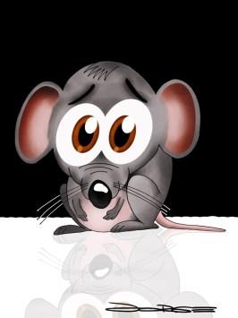 Resultado de imagem para medo ratinho