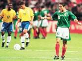 México, 1999: o México foi a segunda zebra que brecou um bicampeonato seguido na Copa das Confederações, feito antes realizado pela Dinamarca contra a Argentina. Naquele ano, o Brasil defendia o título, mas perdeu para a equipe liderada pelo artilheiro Blanco na decisão por 4 a 3. (Foto: Divulgação)