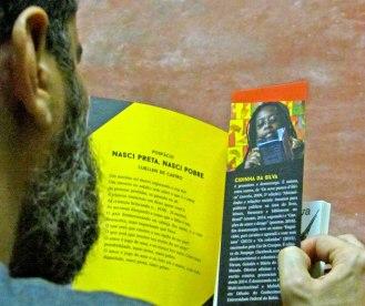 Lançamento do livro #Parem De Nos Matar!, de Cidinha da Silva, no Aparelha Luzia | Foto: Terremoto