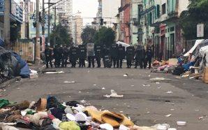 Doria e Alckmin na Cracolândia: violência