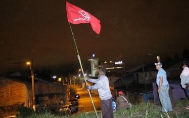 MTST ocupa terreno em São Bernado do Campo