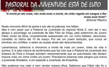Fábio Júnior da Silva é morto em São Felix do…