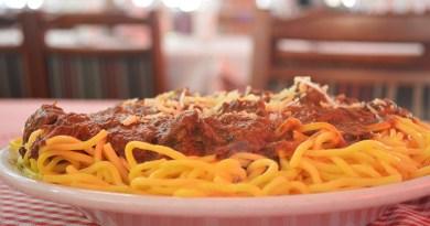 Jantar beneficente em Vinhedo na Macarronada Italiana