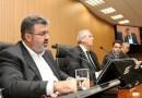 No Plenário da Câmara, secretário Michel Abrão nega envolvimento em irregularidades no Caso Ouro Verde