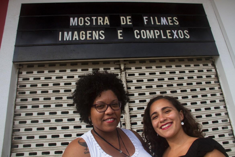 """Ludmila Oliveira e Fabiana Melo Sousa são as curadoras da monstra """"Imagens e Complexos"""""""