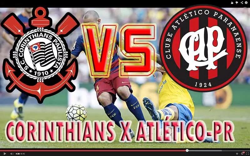 Jogo ao vivo: Corinthians x Athletico-PR, saiba onde assistir o jogo de hoje ao vivo