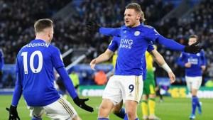 Leicester busca recuperação. Crédito: Ross Kinnaird / GettyImagens
