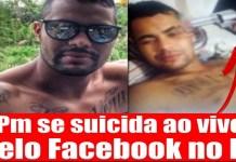 Vídeo do Policial transmitindo seu suicídio ao vivo