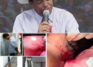 Urgente : Fotos e vídeo de Valdemiro Santiago esfaqueado em culto
