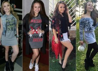 Looks de Larissa Manoela, será que ela tem bom gosto ?