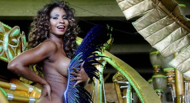 Tuane Rocha se diz evangélica vai desfilar nua no carnaval  (Foto: Fabiano Rocha / Extra)