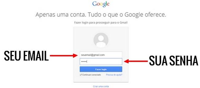 Gmail entrar (Reprodução/Internet)
