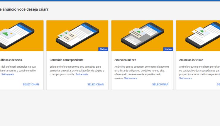 Conheça o InFeed e InArtigle 2 novos formatos de anúncios Adsense