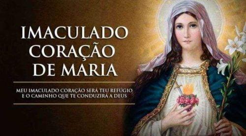 Dia 12 Junho: Imaculado Coração de Maria